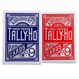 Карти за игра Bicycle - Tally-Ho Fan Back № 9