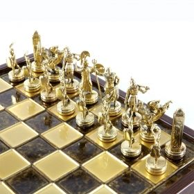 Луксозен шах Manopoulos - Гръцка митология, 34x34 см