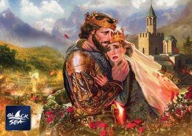 Пъзел от 1000 части Black Sea Puzzles - Последната целувка на цар Иван, Калоян Стоянов
