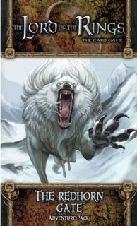 The LORD Of The RINGS The Card Game - THE REDHORN GATE  - Adventure Pack 1