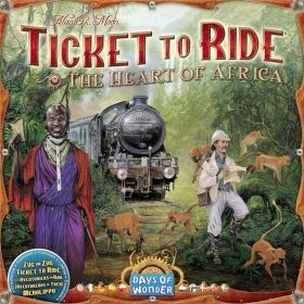 TICKET TO RIDE MAP COLLECTION: VOL. 3 - THE HEART OF AFRICA