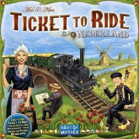 TICKET TO RIDE MAP COLLECTION: VOL. 4 - NEDERLAND