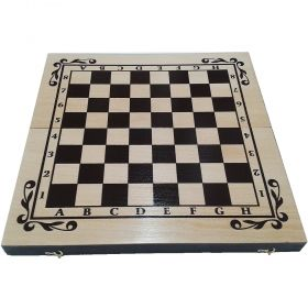 Кутия за шах и табла бук - ситопечат 34/34