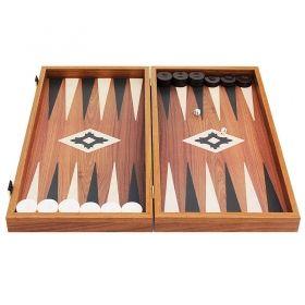 Дървена табла Manopoulos, цвят орех, голяма