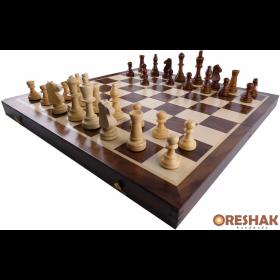 Комплект шах и табла бук - ръчна изработка 34/34