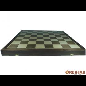 Комплект фурнирована шах и табла бук - ръчна изработка 48/48