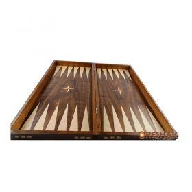 Фурнирована кутия за табла, орех/бук, 48x48 см.