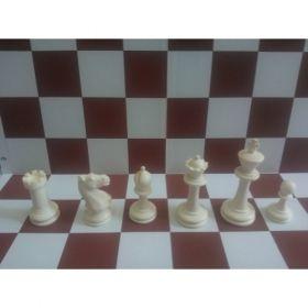 Шахматни фигури дизайн Стаунтон 6 (пластмасови, с утежнение)