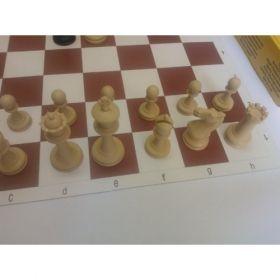 Комплект професионален шах с леки фигури
