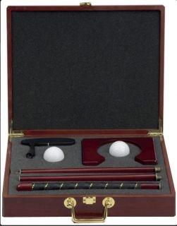 Мини голф комплект в дървена кутия
