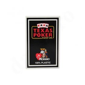 Покер карти Texas Poker 100% Plastic Син