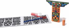 Творчески комплект Maped Mini Box - Направи си тотеми с пясък
