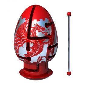 Метален логически пъзел Smart Egg - Яйце Лабиринт